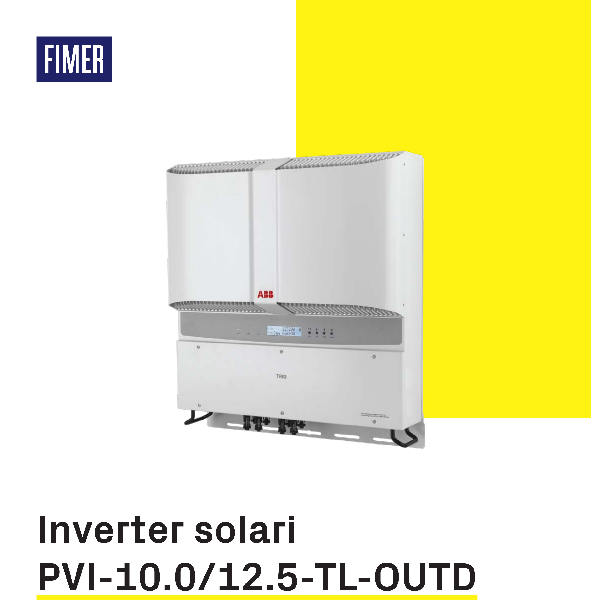FIMER PVI 10.0 12.5 TL OUT
