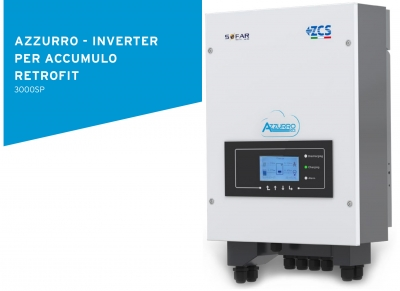 Azzurro - Inverter per Accumulo Retrofit 3000SP
