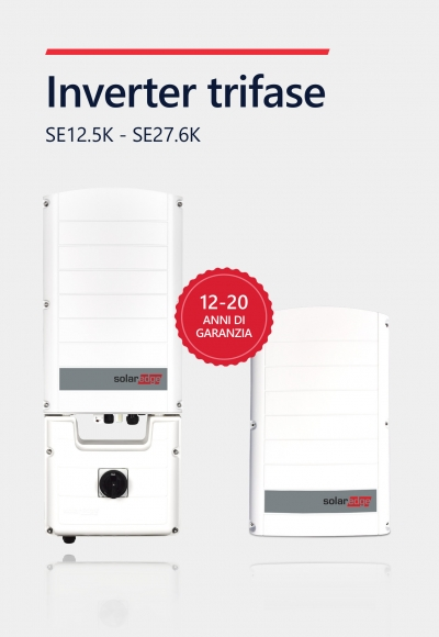 Inverter SolarEdge trifase per impianti commerciali